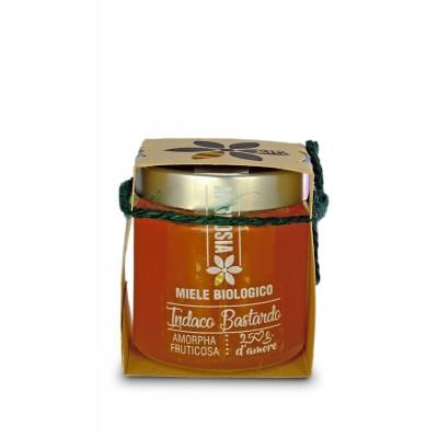 Miele biologico di Indaco Bastardo - 250 gr