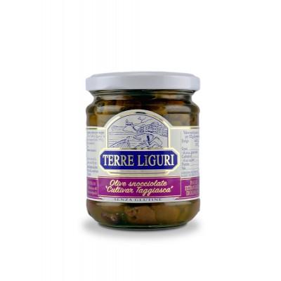Olivette denocciolate alla ligure in olio extra-vergine - 180 gr